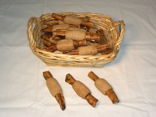 Peanut Butter Basted Rawhied with Peanut Butter Cookie